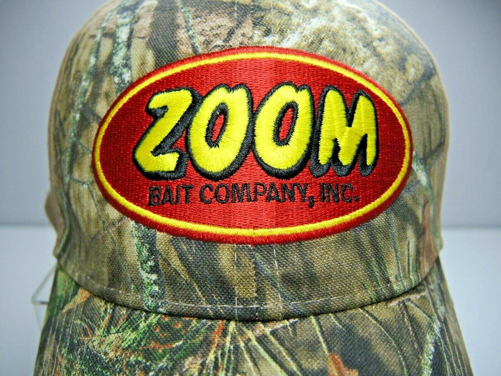 Zoom Bait Company Inc Camo Adjustable Baseball Hat Cap Strapback - fazoom
