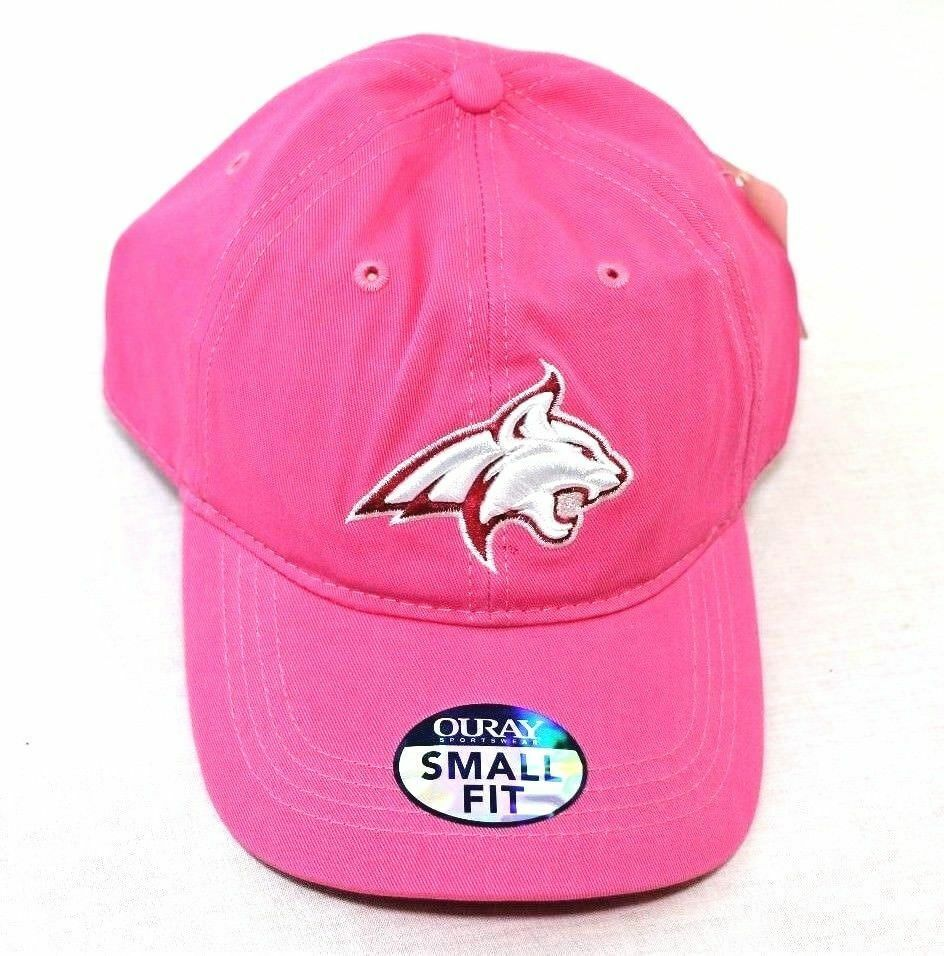 Montana State Bobcats NCAA Small Fit Epic Cap Hat, Adjustable Size, Dark Pink - fazoom