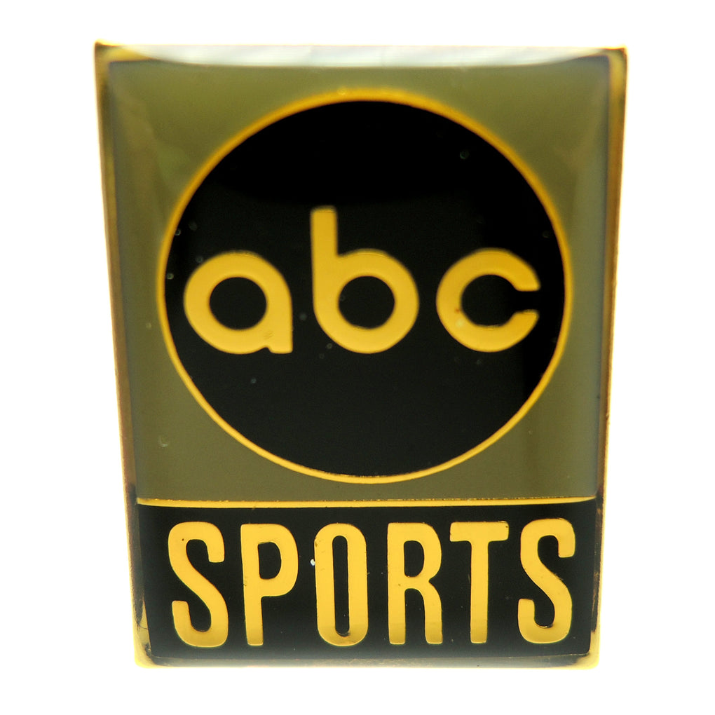ABC Sports Media Vintage Green Lapel Pin - Fazoom