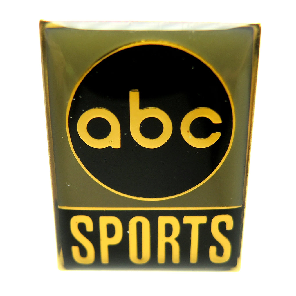 ABC Sports Media Vintage Green Lapel Pin