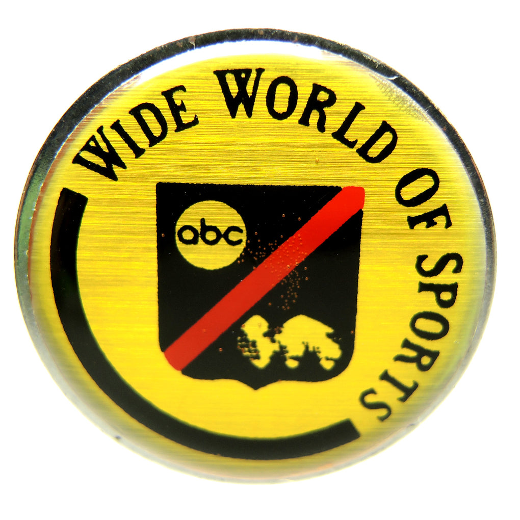 ABC Wide World of Sports Media Vintage Lapel Pin