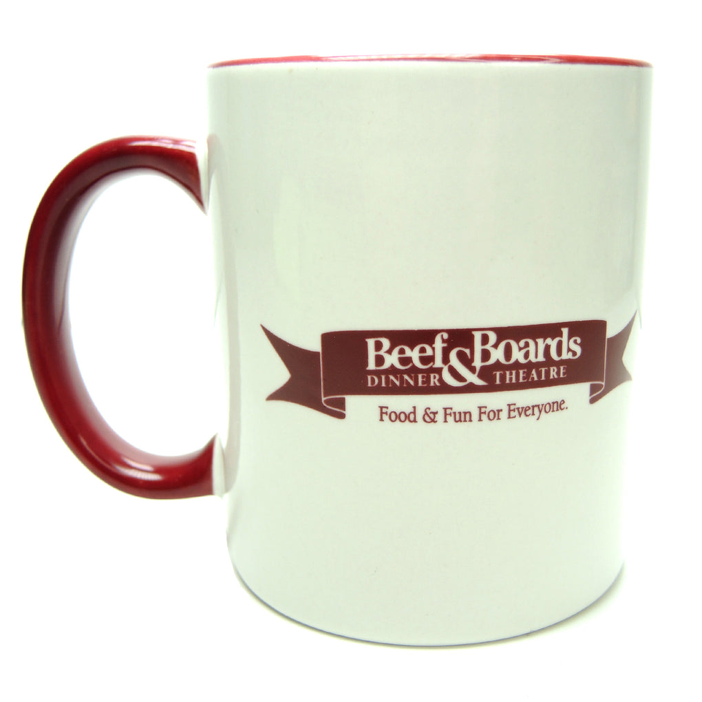 Beef & Boards Dinner Theatre Indianapolis Indiana Ceramic Coffee Mug