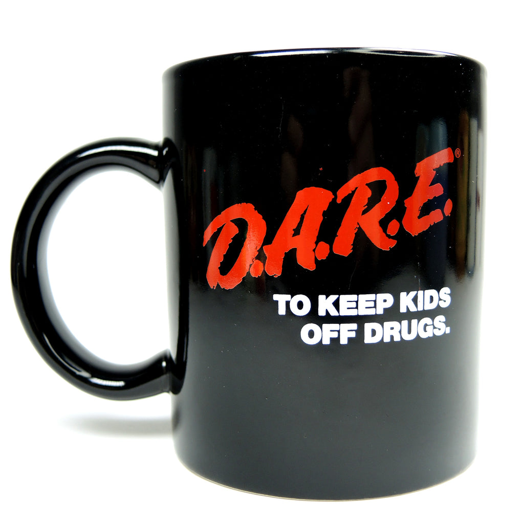 D.A.R.E. To Keep Kids Off Drugs Coffee Mug ~ 10 oz ~ 1980s