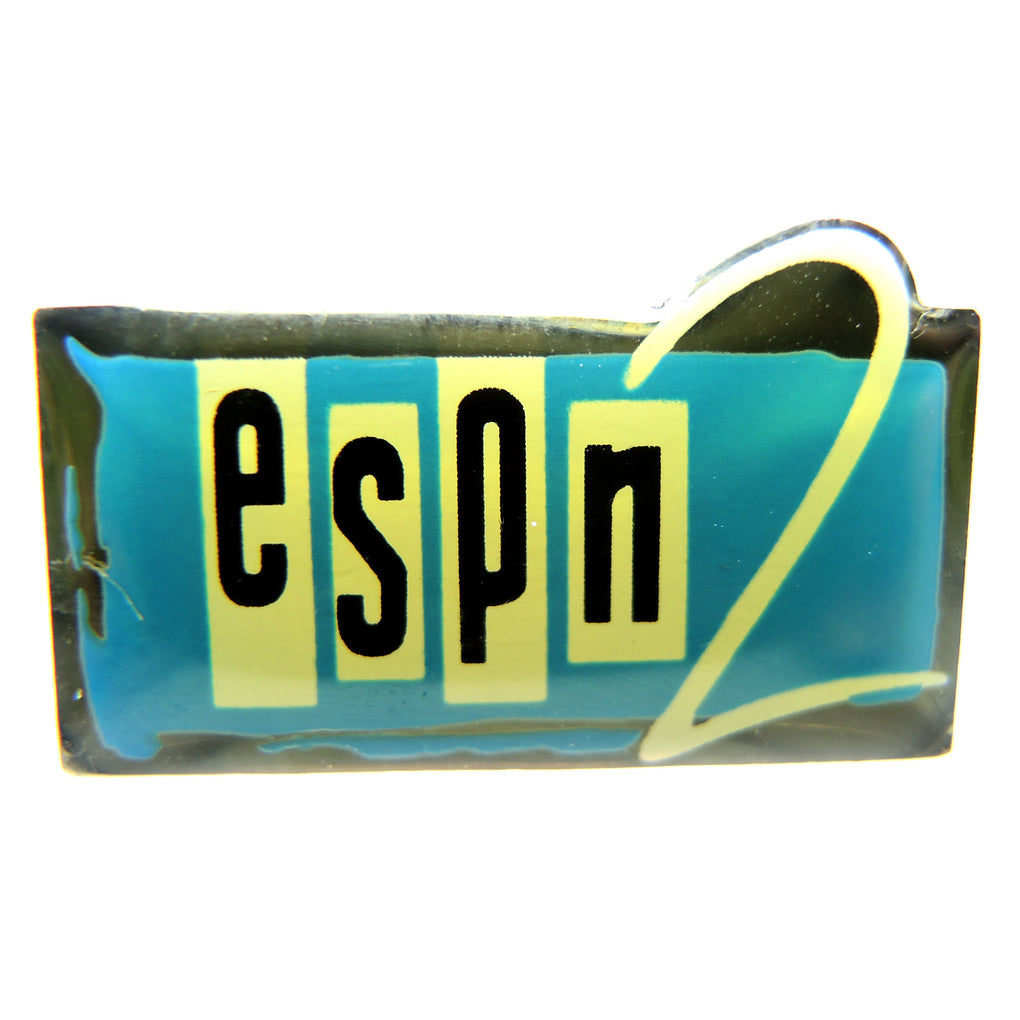 ESPN 2 Media Lapel Pin