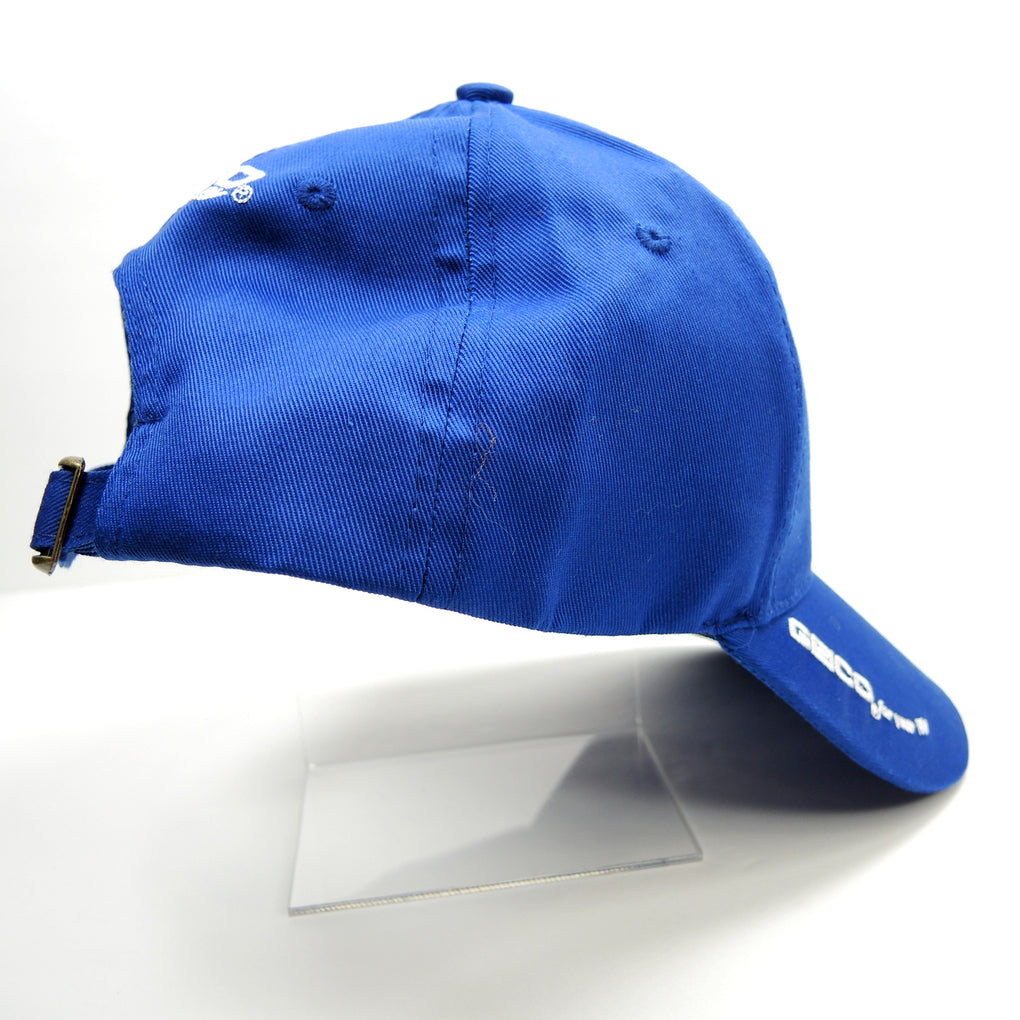 Geico for your RV Blue Hat ~ Gecko ~ Adjustable Strapback Cap - Fazoom