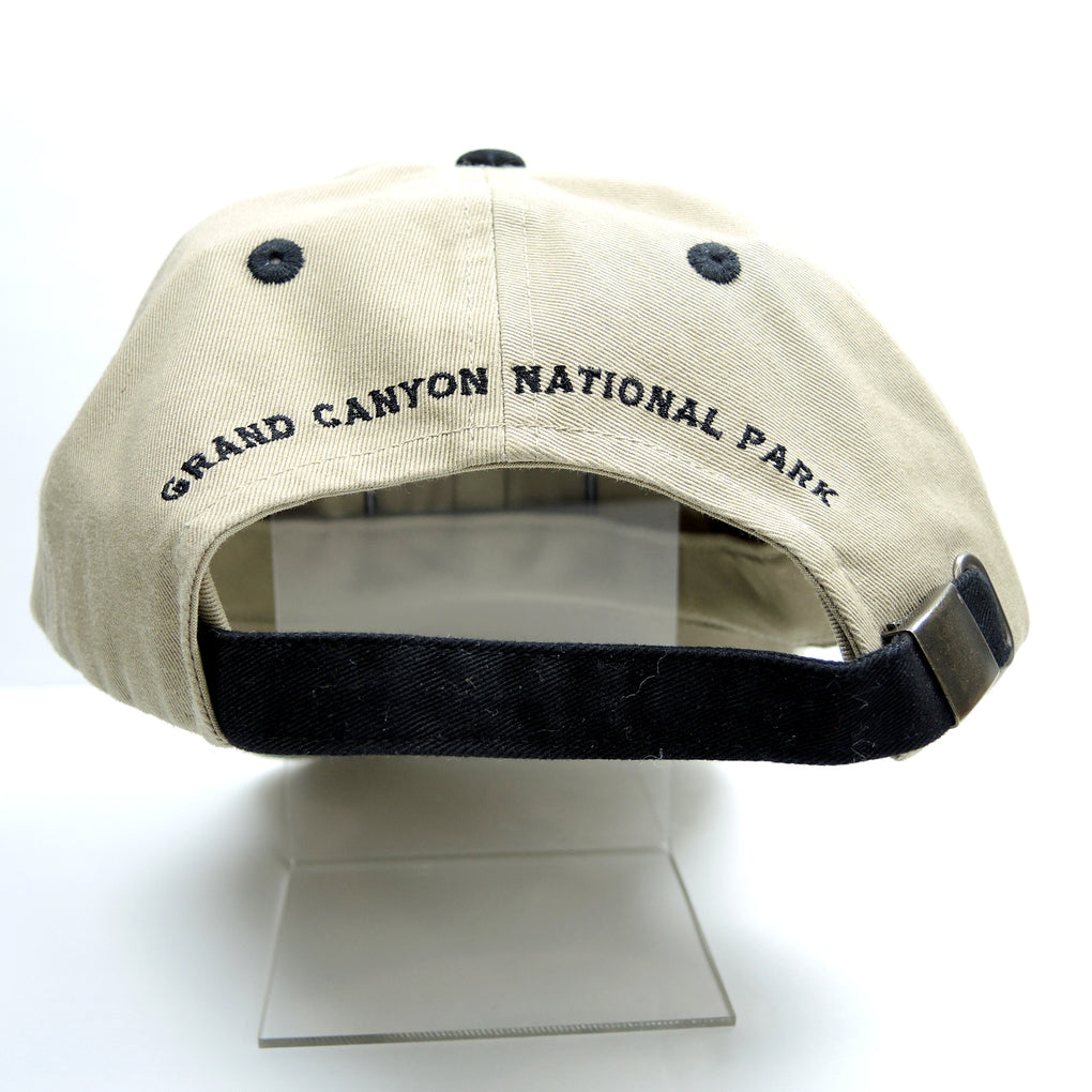 Grand Canyon National Park Tan Hat ~ Adjustable Strapback Cap - Fazoom