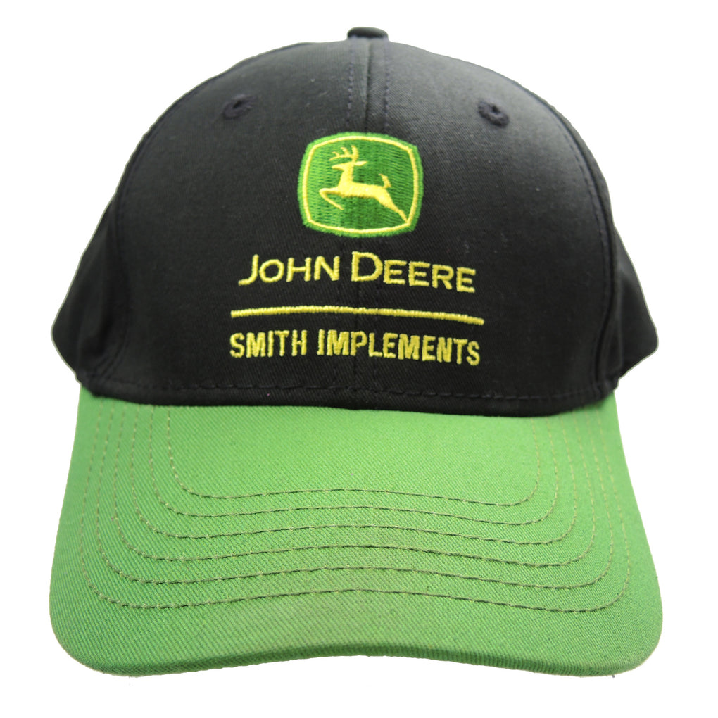 John Deere Smith Implements Hat ~ Black Snapback - Fazoom
