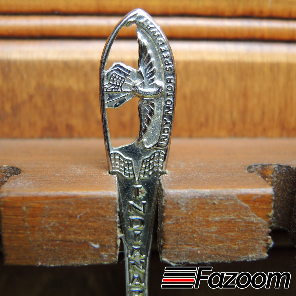 Indianapolis Motor Speedway Indy 500 IndyCar Racing Indiana State Souvenir Collectible Spoon - Fazoom