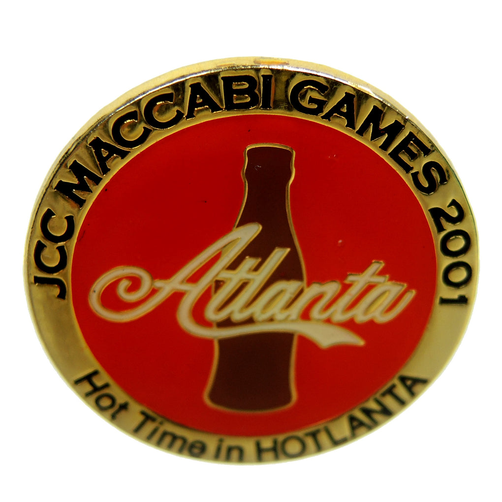 JCC MacCabi Games 2001 Atlanta Lapel Pin