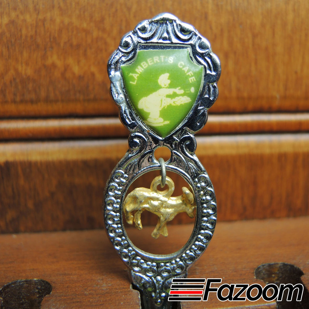 Lambert's Cafe Souvenir Collectible Dangle Spoon ~ Union Japan - Fazoom