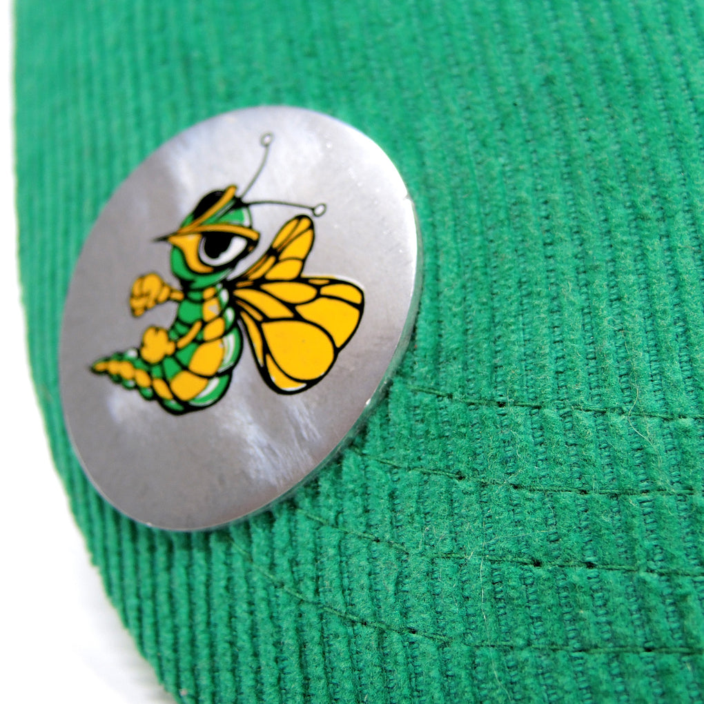Mickey's Fine Malt Liquor Green Bottle Opener Hat ~ Hornet Miller Brewing Beer 2007
