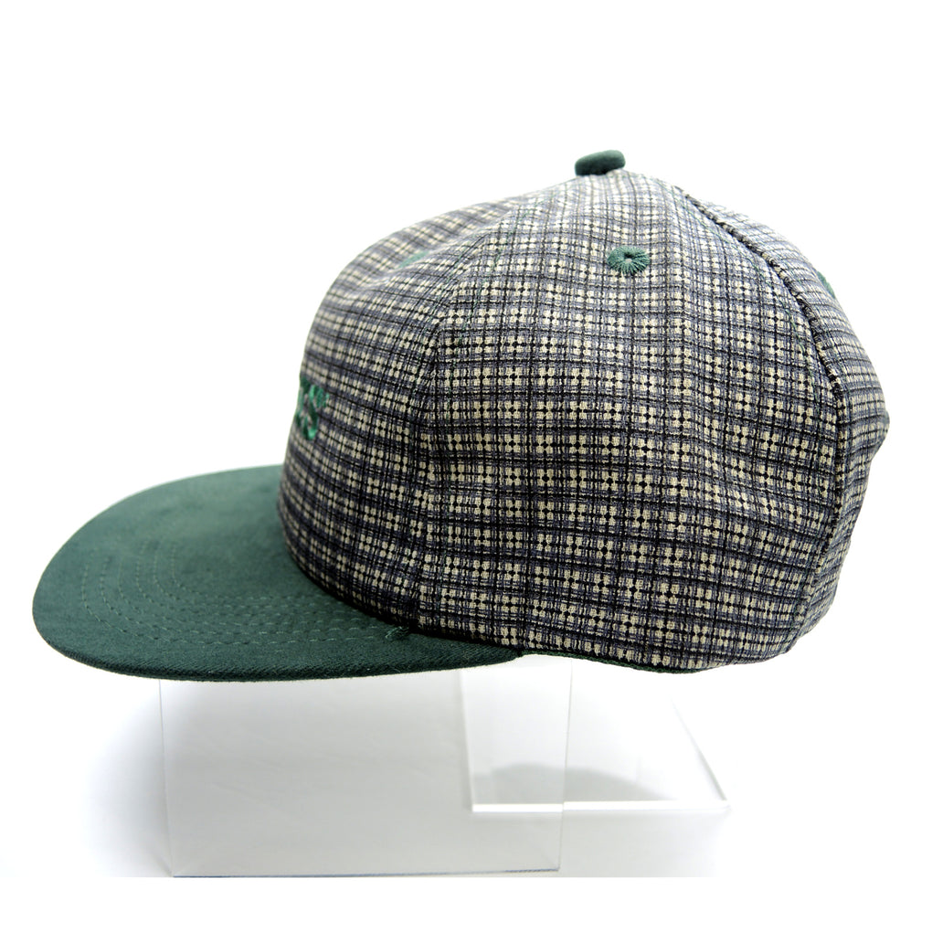 Myers Green Plaid Hat ~ Adjustable Snapback Cap ~ K-Products - Fazoom
