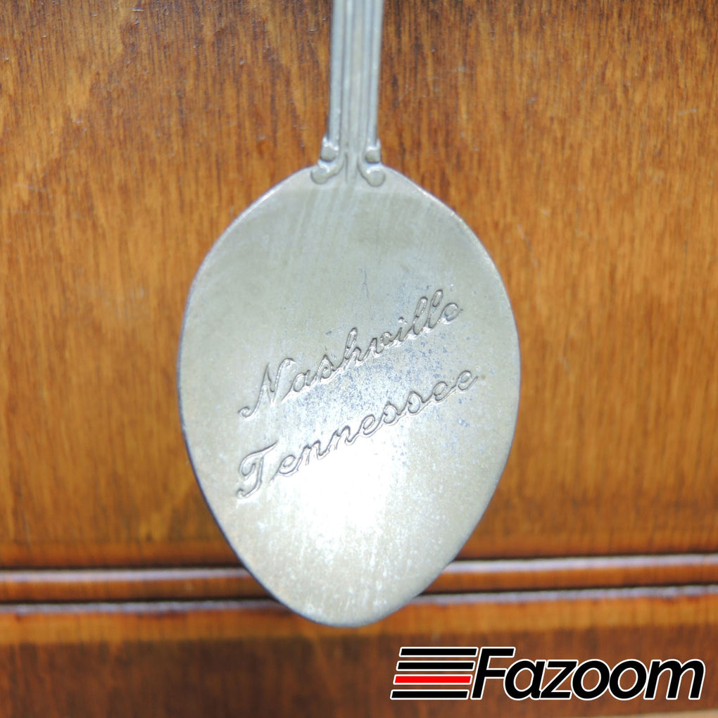 Nashville Tennessee Music City USA State Souvenir Collectible Spoon - Fazoom