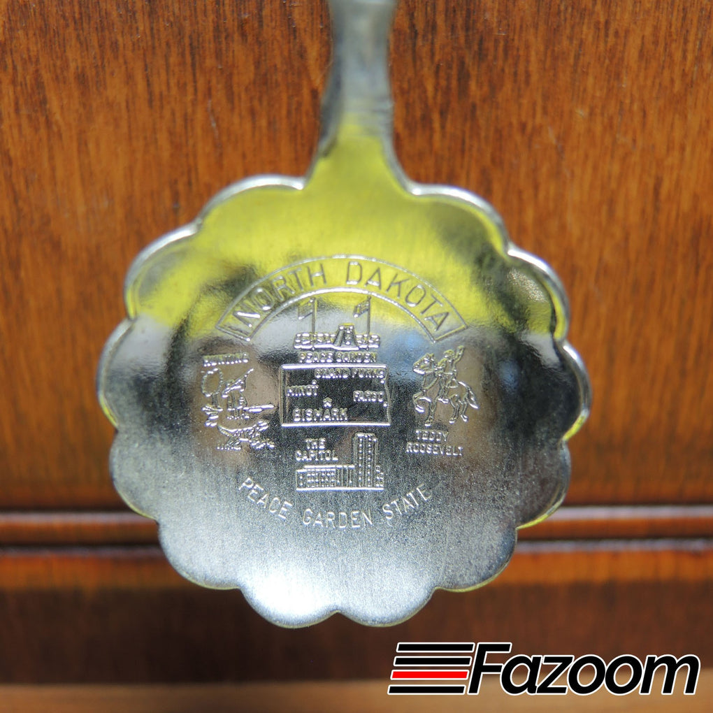 New Salem North Dakota State Souvenir Collectible Spoon - Fazoom
