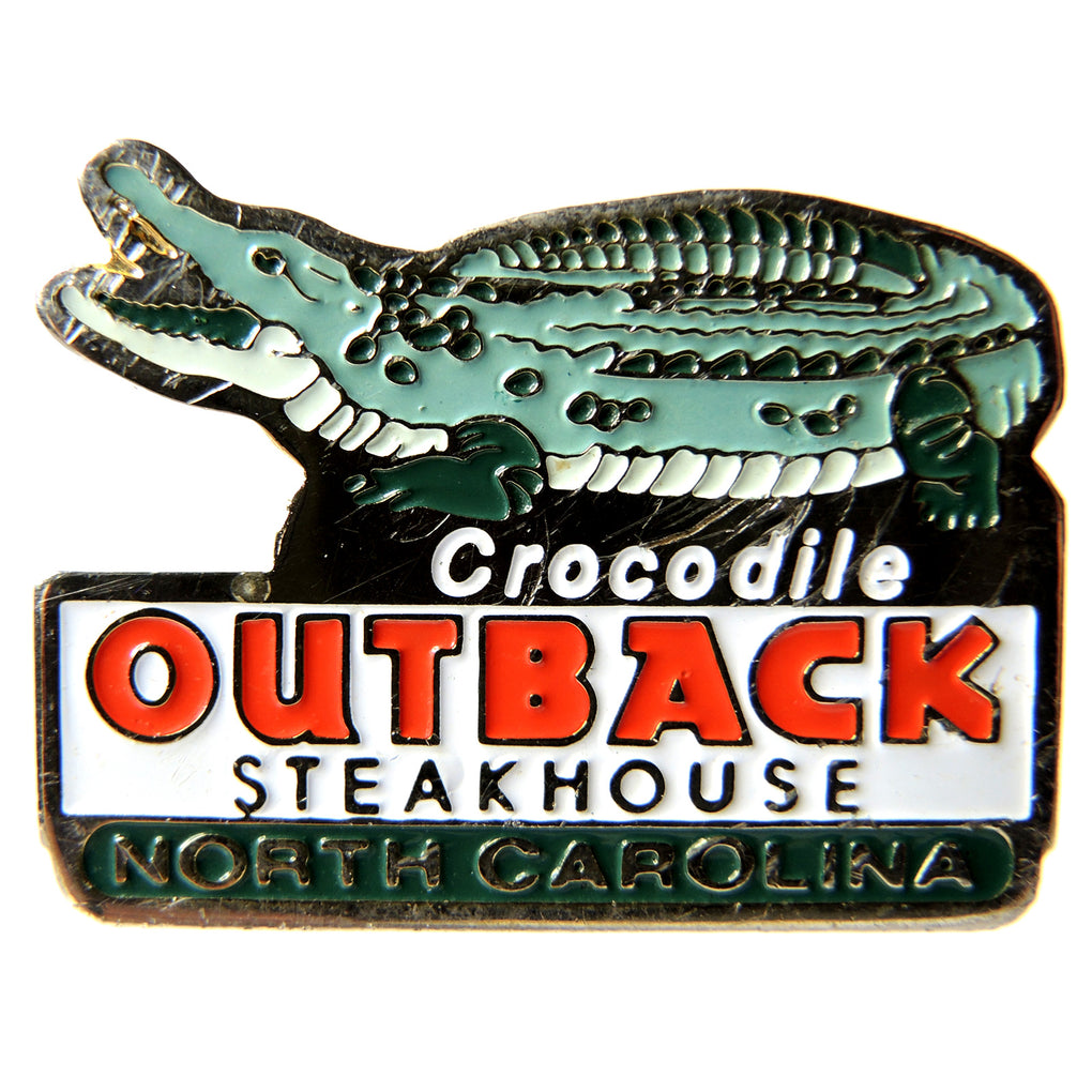 Outback Steakhouse Crocodile North Carolina Lapel Pin - Fazoom