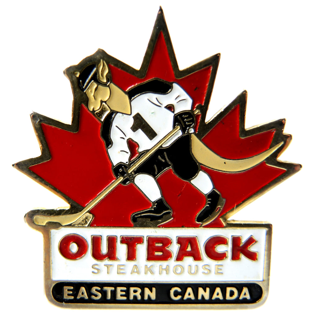 Outback Steakhouse Eastern Canada Hockey Lapel Pin