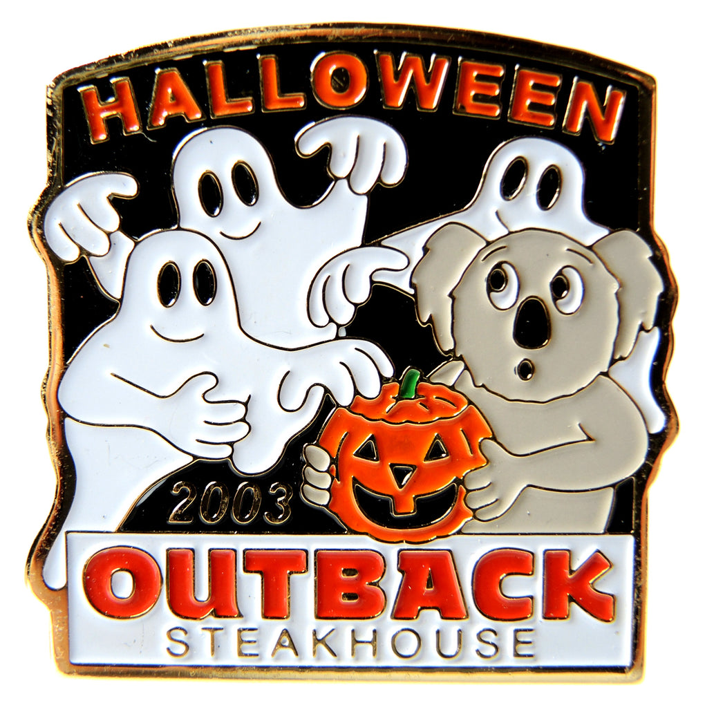 Outback Steakhouse Halloween 2003 Lapel Pin - Fazoom