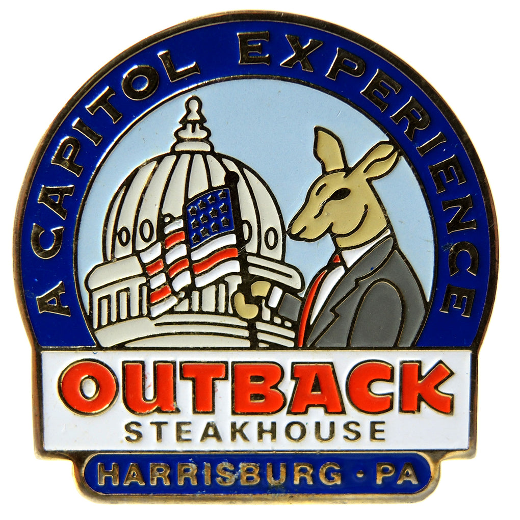 Outback Steakhouse Harrisburg PA Lapel Pin