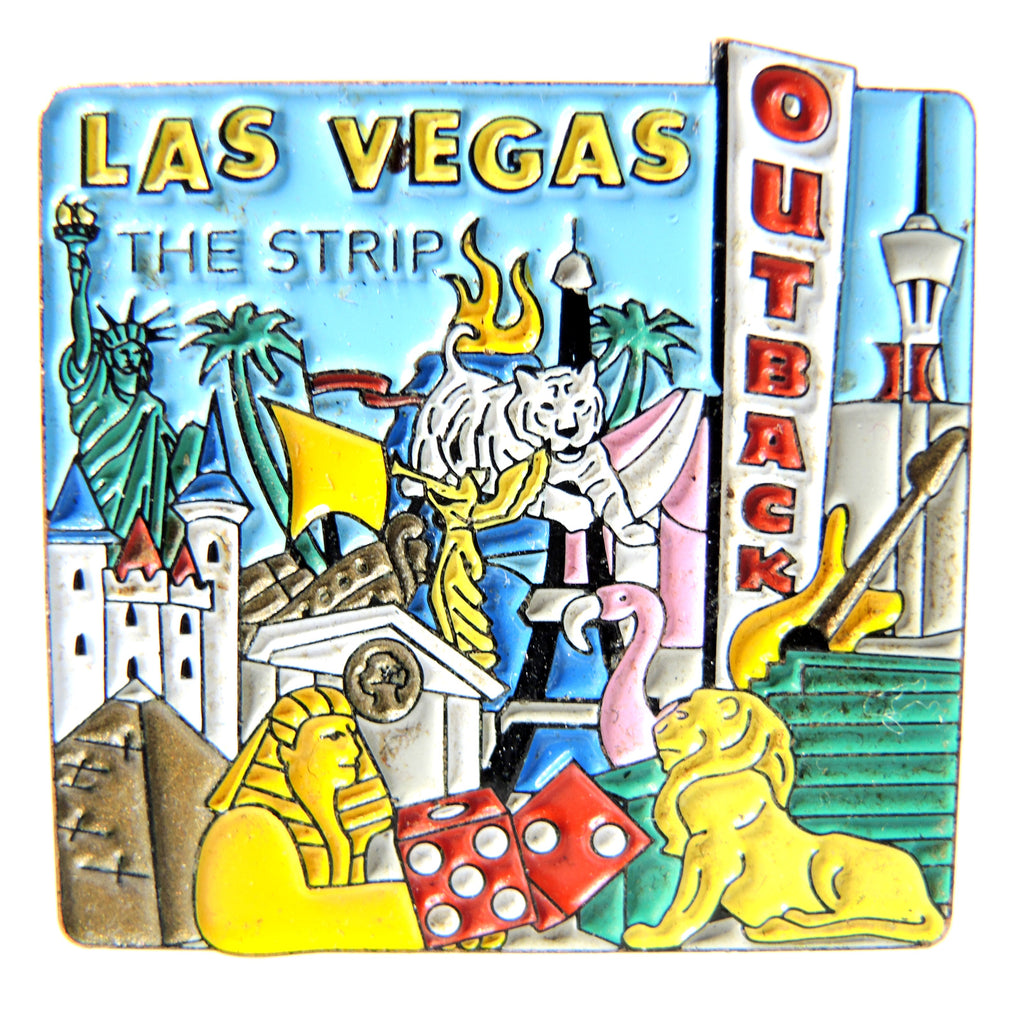Outback Steakhouse Las Vegas The Strip Lapel Pin - Fazoom