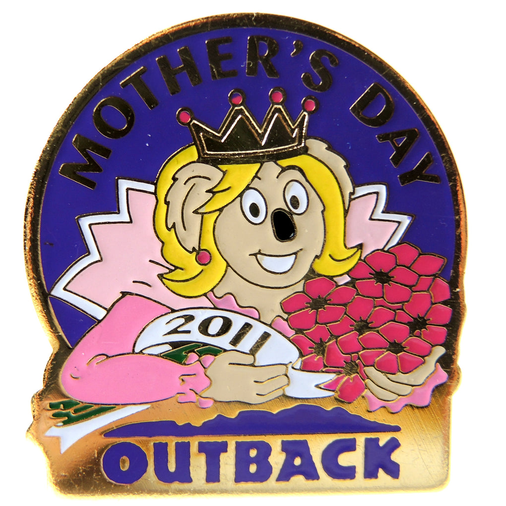 Outback Steakhouse Mother's Day 2011 Lapel Pin