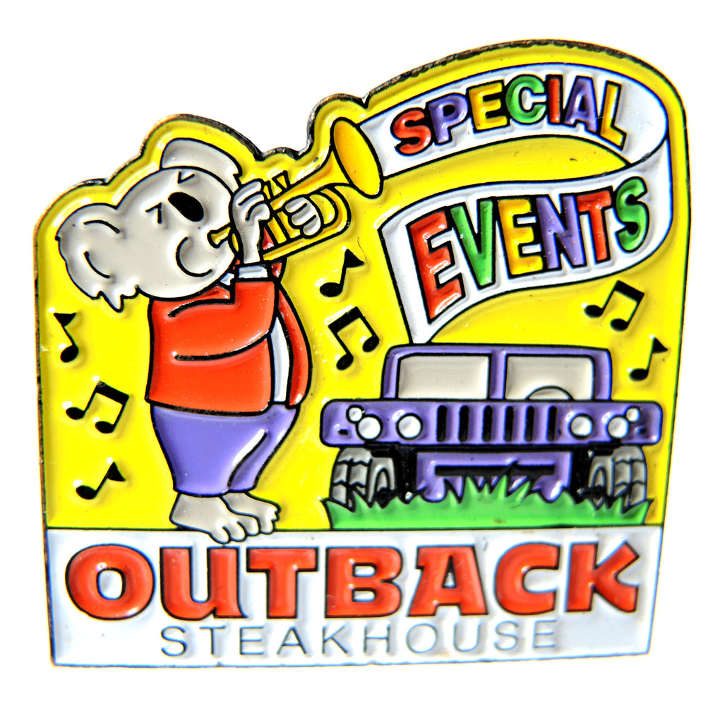 Outback Steakhouse Special Events Koala Trumpet Lapel Pin