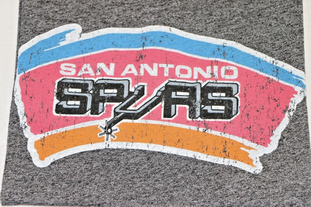 San Antonio Spurs NBA 3/4 Sleeve T-Shirt (2XL, Black) - Fazoom