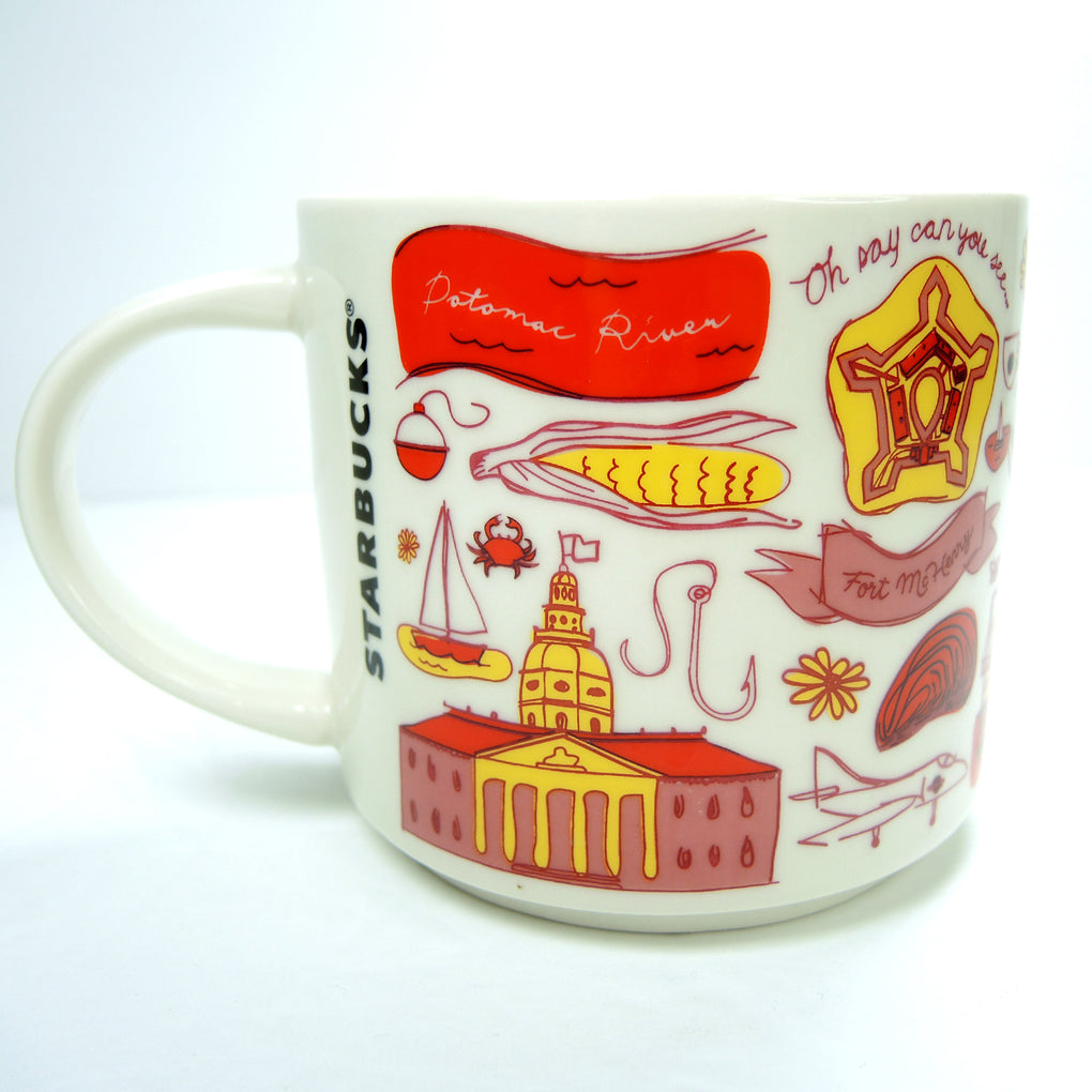 Starbucks Been There Series Mug: Maryland 2018 (BWB 18) Coffee Cup - Fazoom