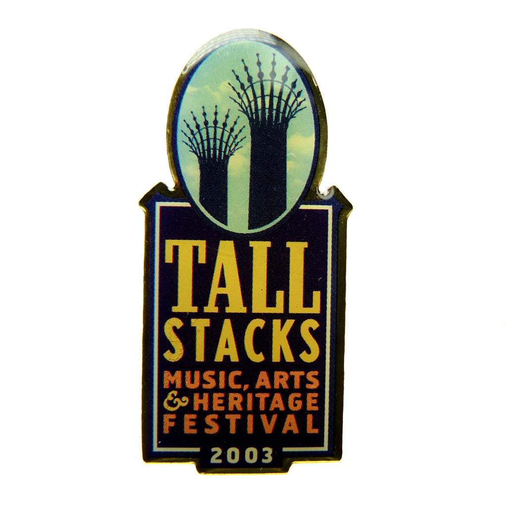 Tall Stacks Festival 2003 Cincinnati, Ohio Lapel Pin - Fazoom