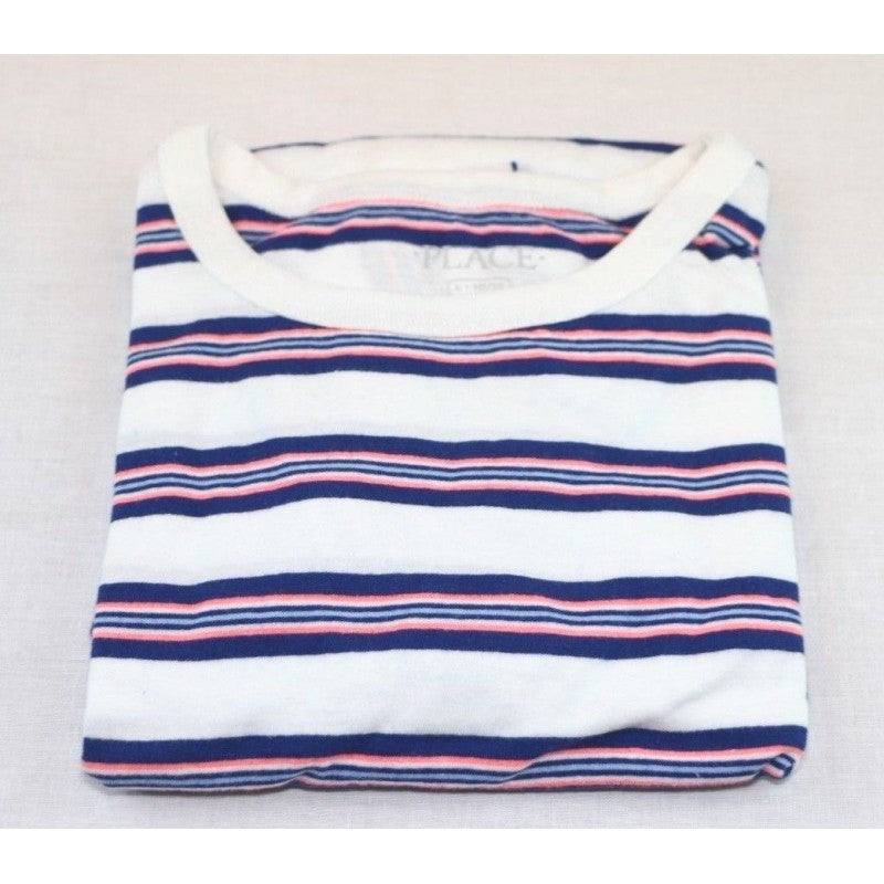 The Children's Place Big Boys Short Sleeve Striped T-Shirt (Large) - Fazoom