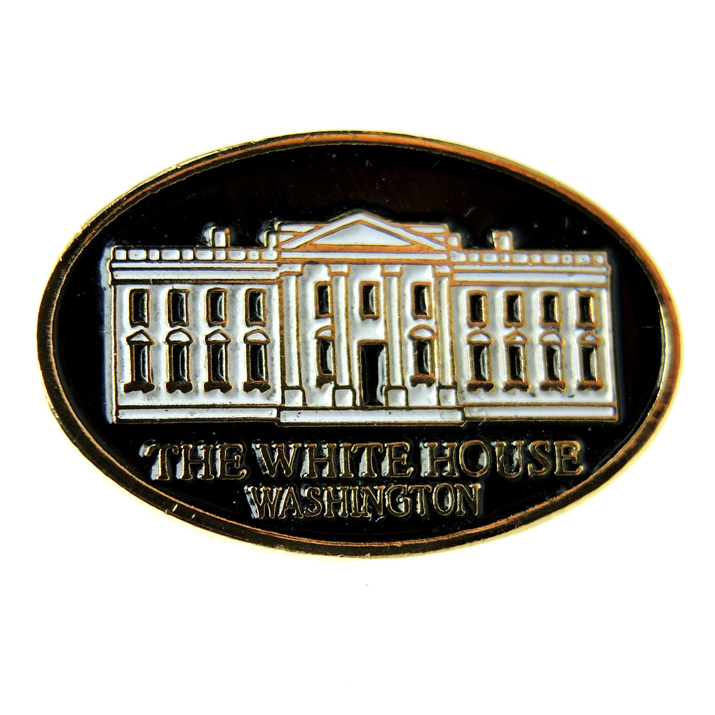 The White House Washington DC Oval Lapel Pin