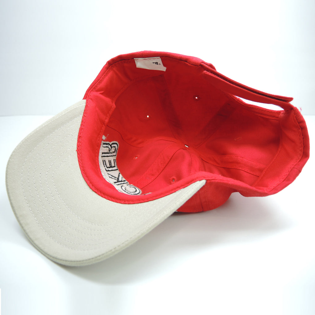 Tracker Boats Red Hat ~ Fishing Boating ~ Adjustable Strapback Cap
