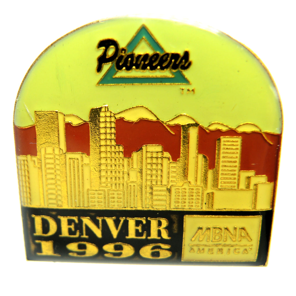 University of Denver Pioneers 1996 Lapel Pin - Fazoom