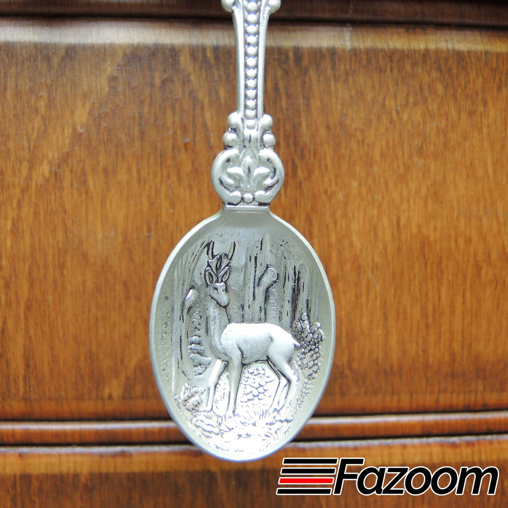 Yellowstone National Park Wildlife Souvenir Collectible Spoon by D.A.I. Holland - Fazoom
