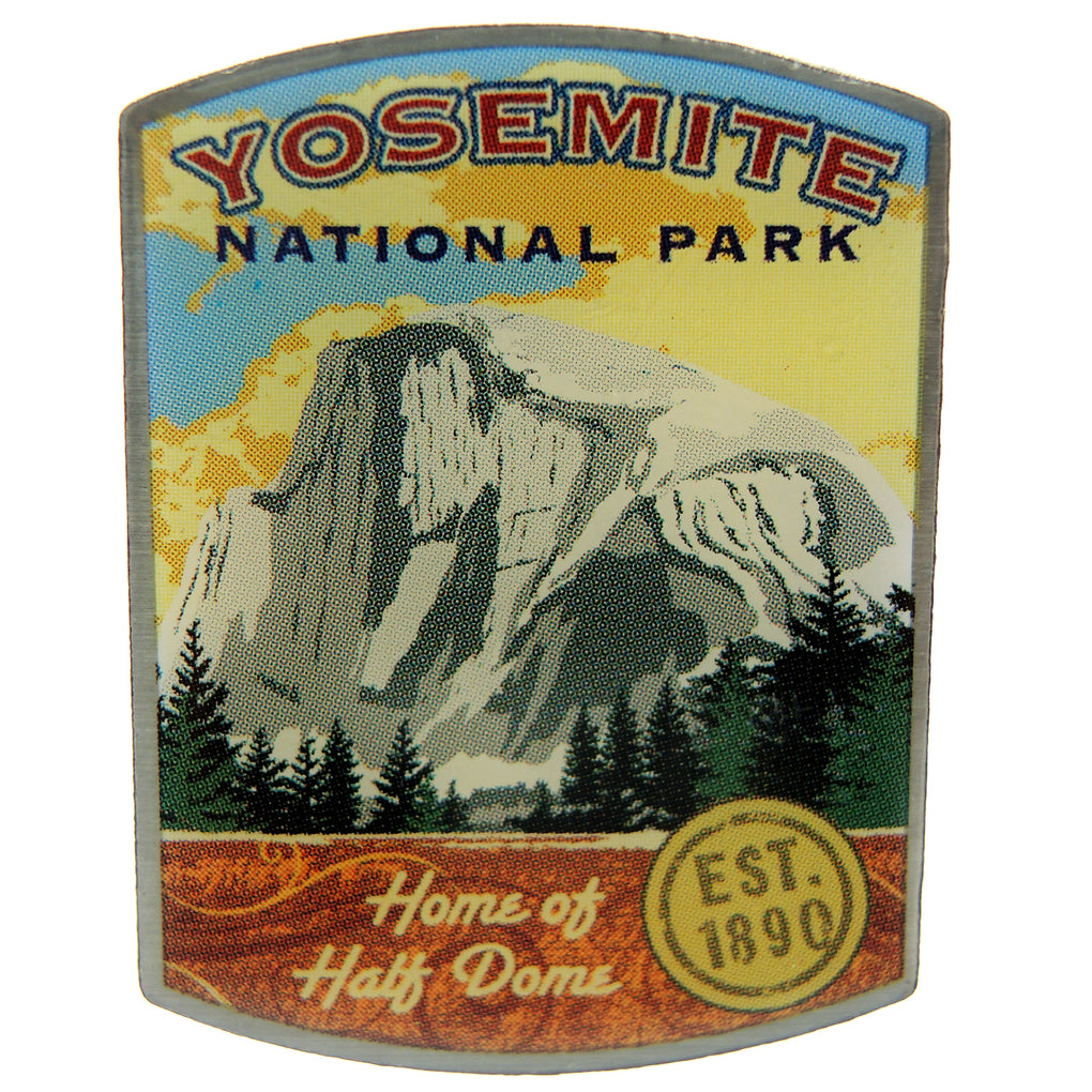 Yosemite National Park Home of Half Dome Lapel Pin