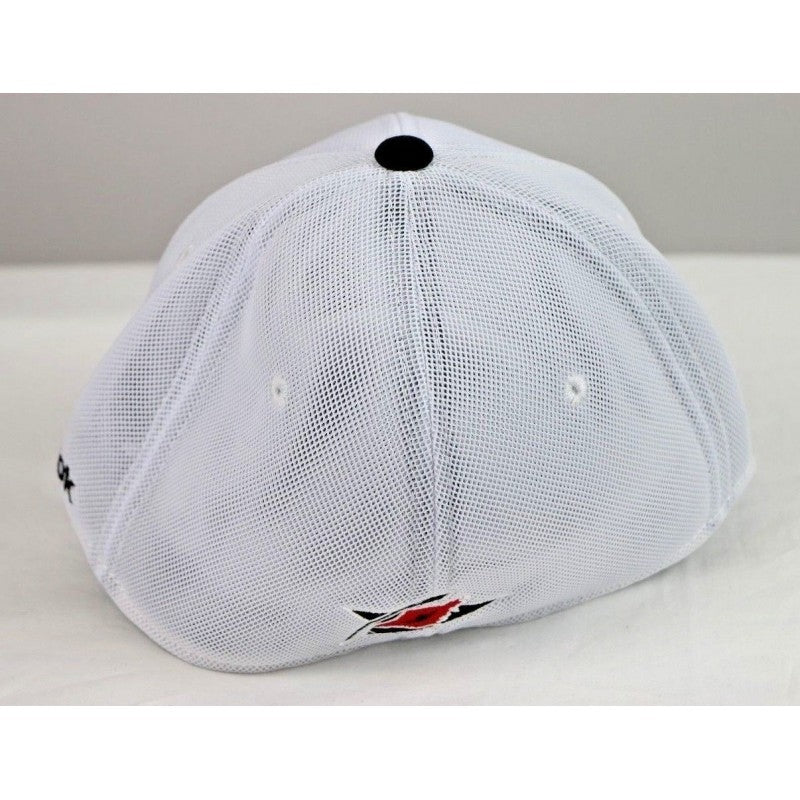 Carolina Hurricanes NHL Men's Reebok Structured Flex Fitted Hat, White, Size S/M - Fazoom