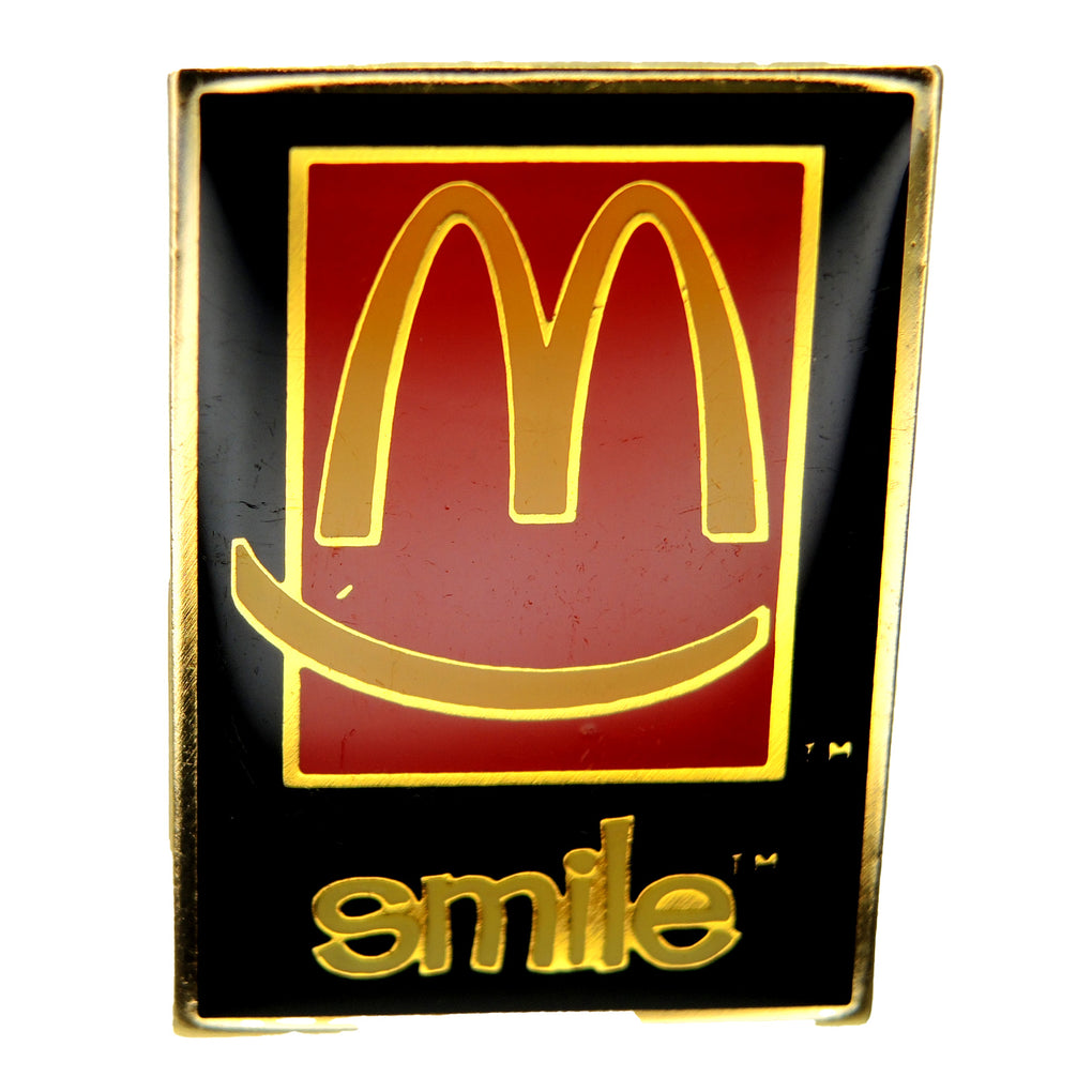 McDonald's Smile Lapel Pin