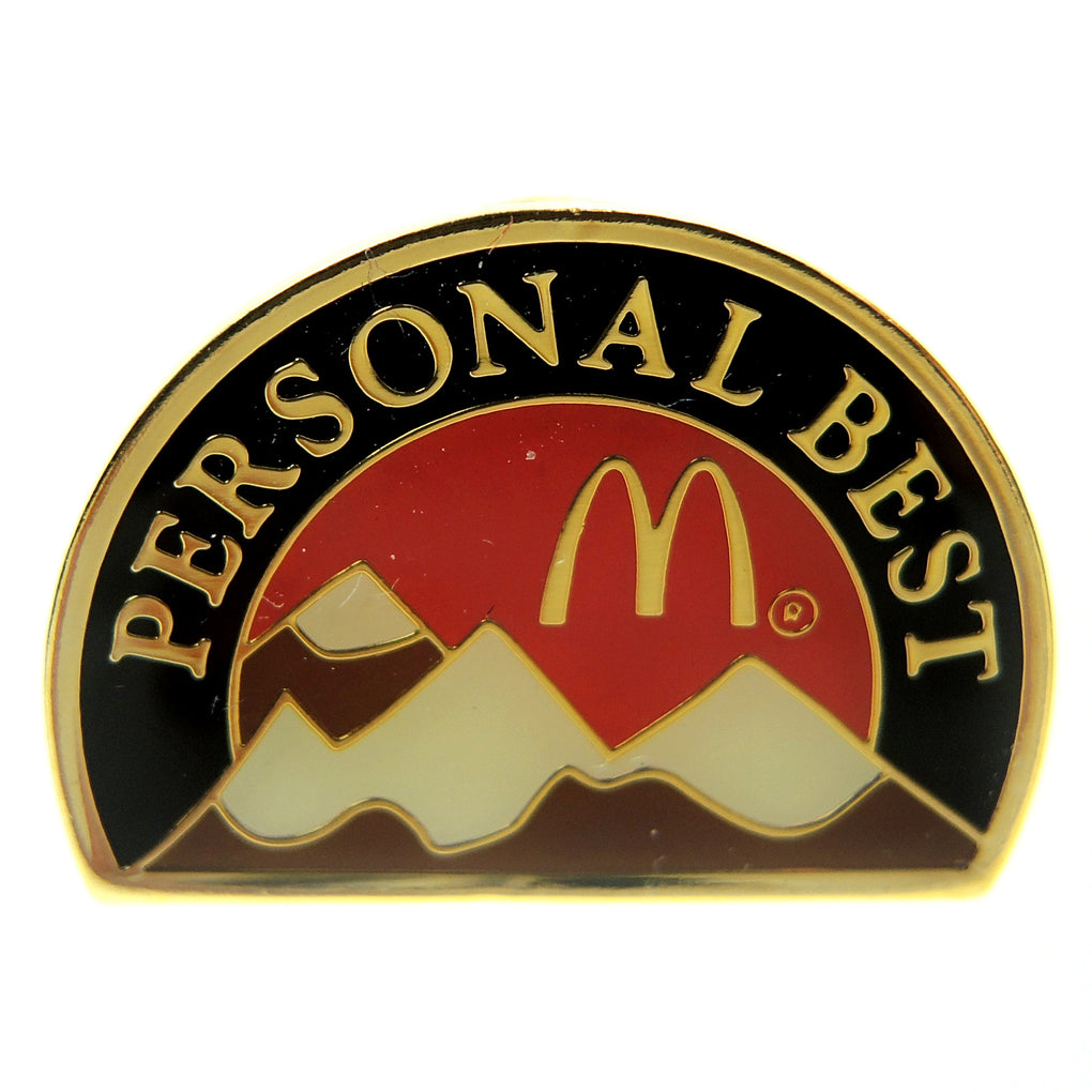 McDonald's Personal Best Mountains Lapel Pin - Fazoom