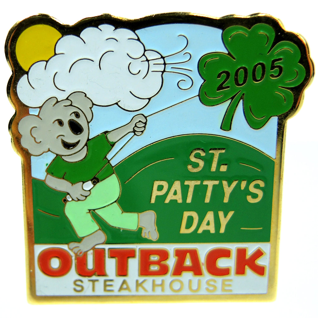 Outback Steakhouse St. Patty's 2005 Lapel Pin - Fazoom