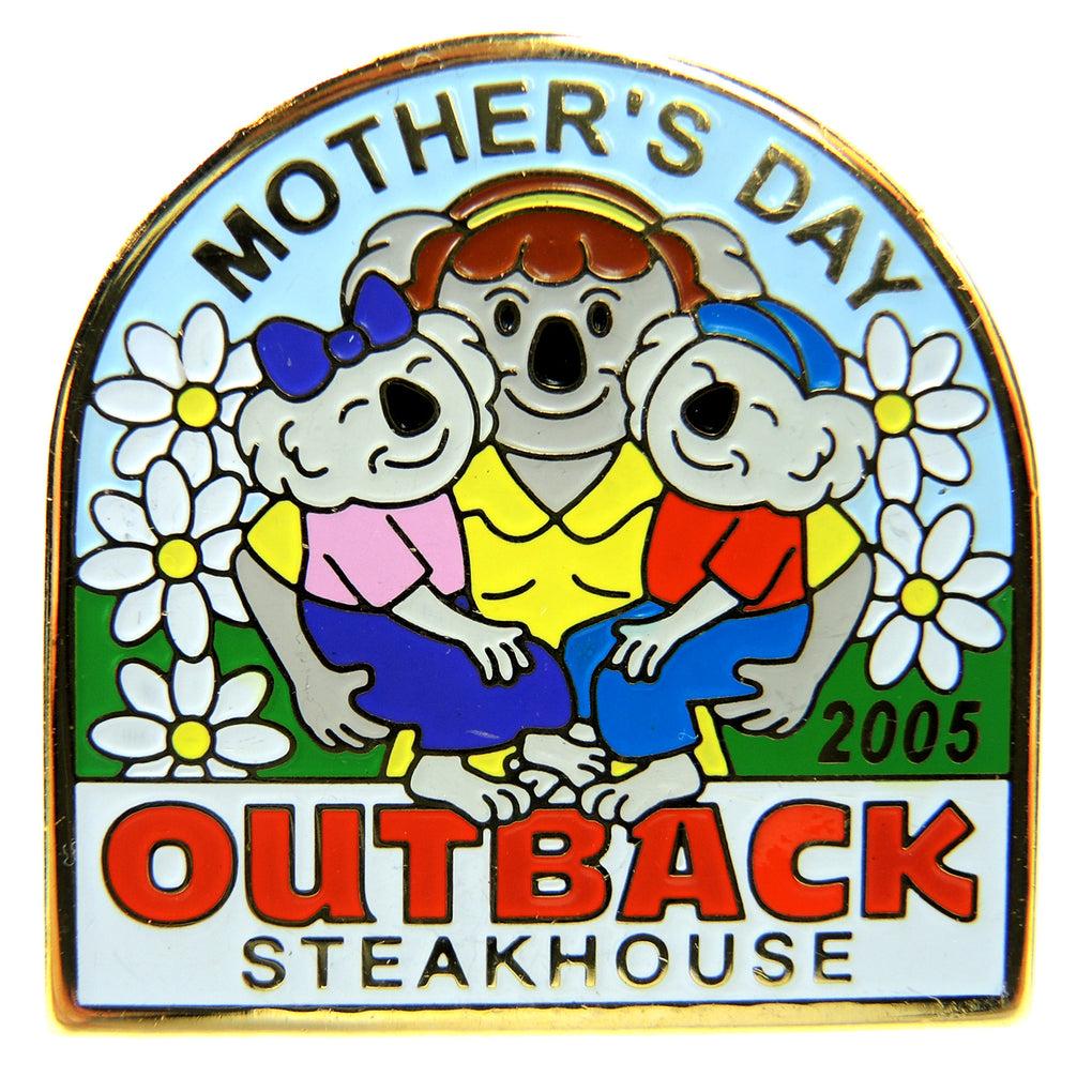 Outback Steakhouse Mother's Day 2005 Lapel Pin - Fazoom