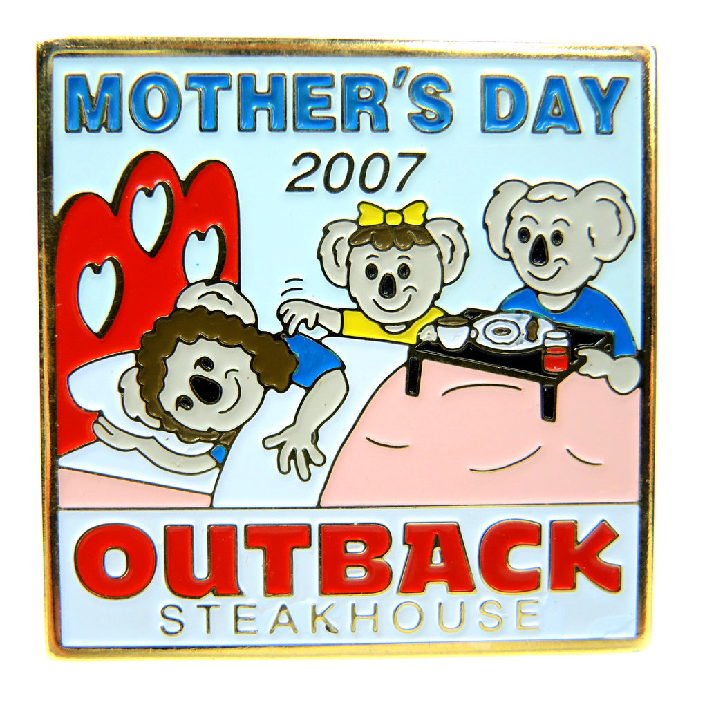 Outback Steakhouse Mother's Day 2007 Lapel Pin - Fazoom