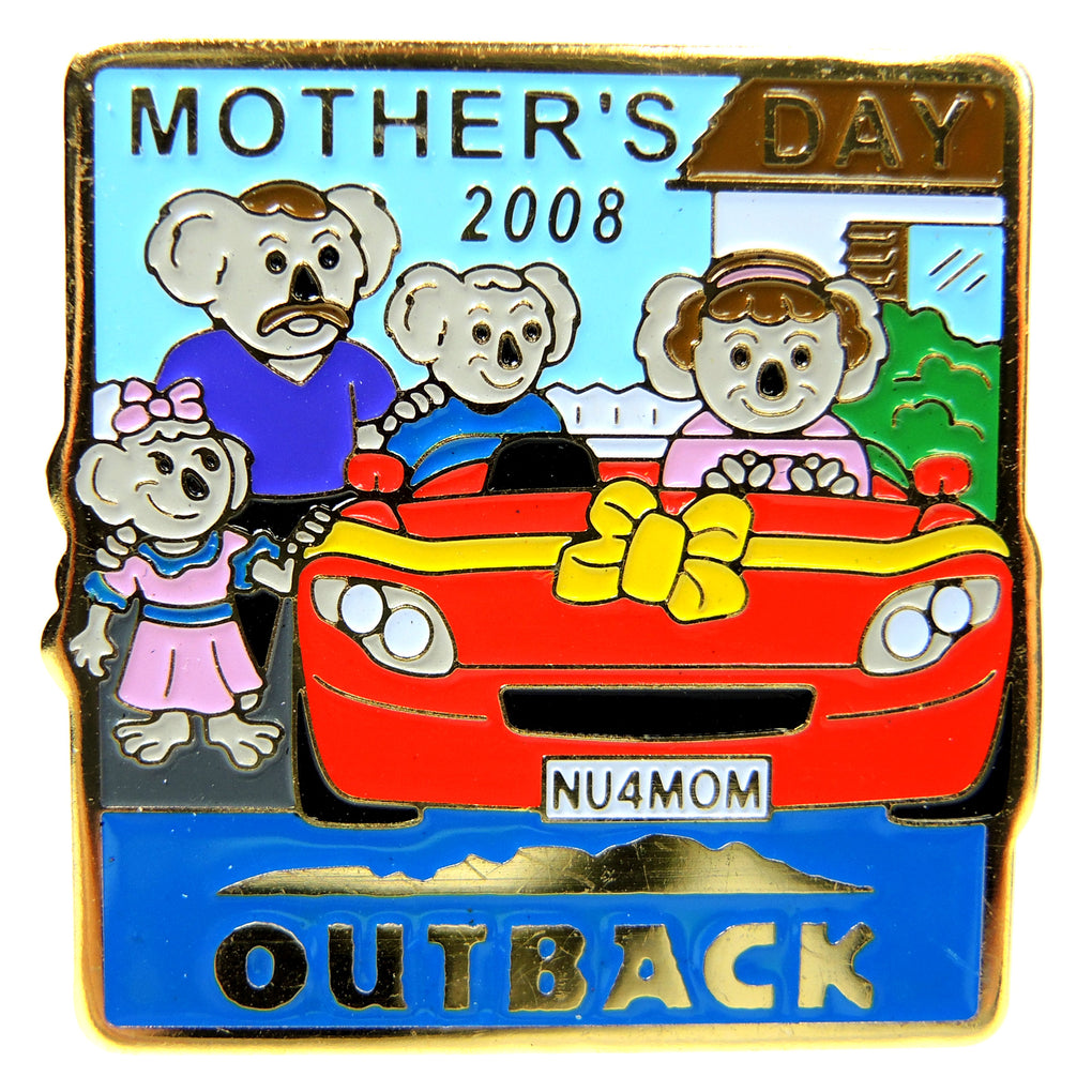 Outback Steakhouse Mother's Day 2008 Lapel Pin - Fazoom