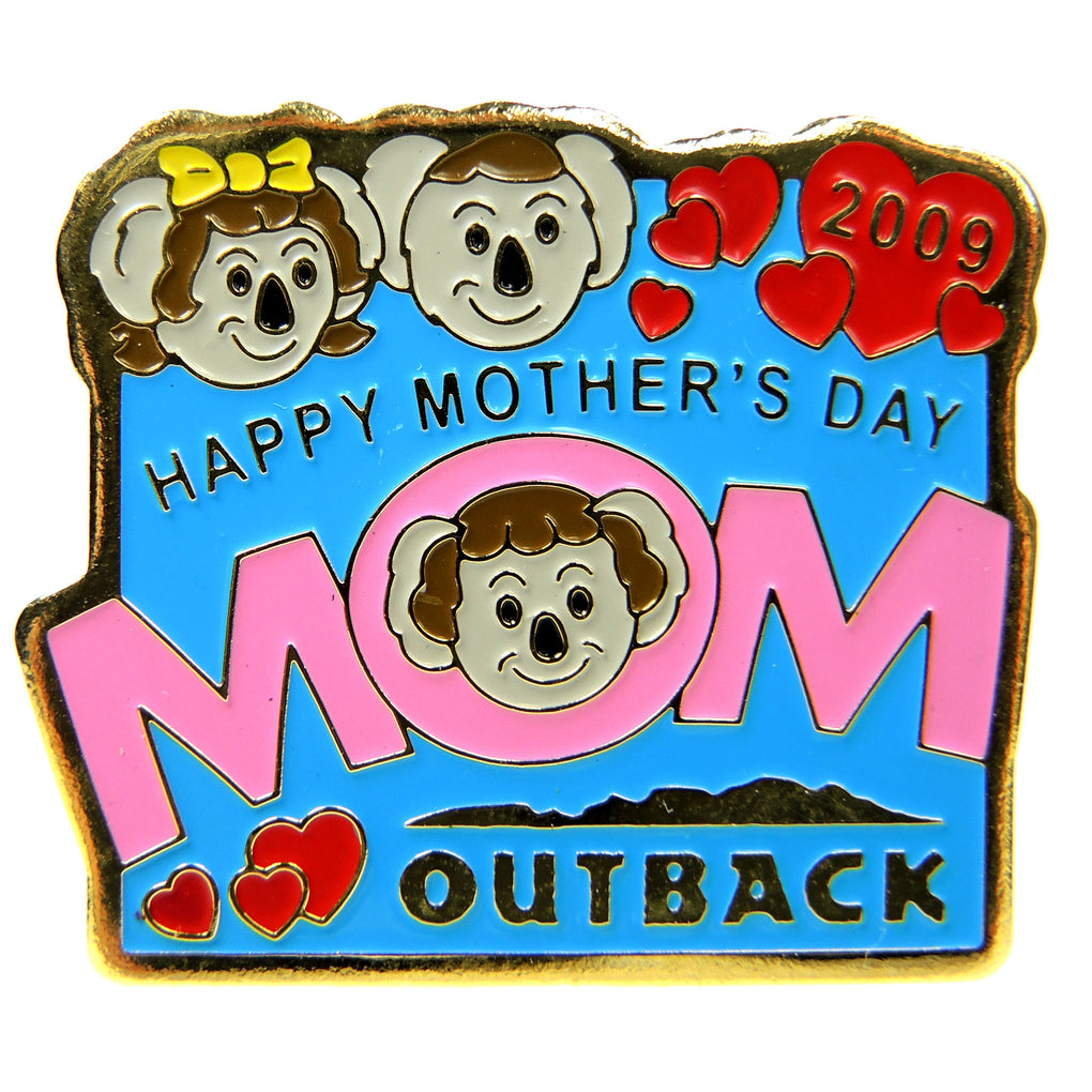 Outback Steakhouse Mother's Day 2009 Lapel Pin - Fazoom