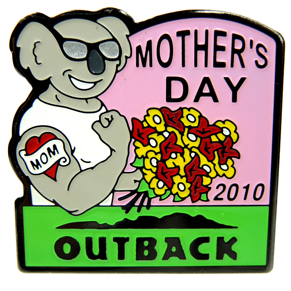 Outback Steakhouse Mother's Day 2010 Lapel Pin - Fazoom