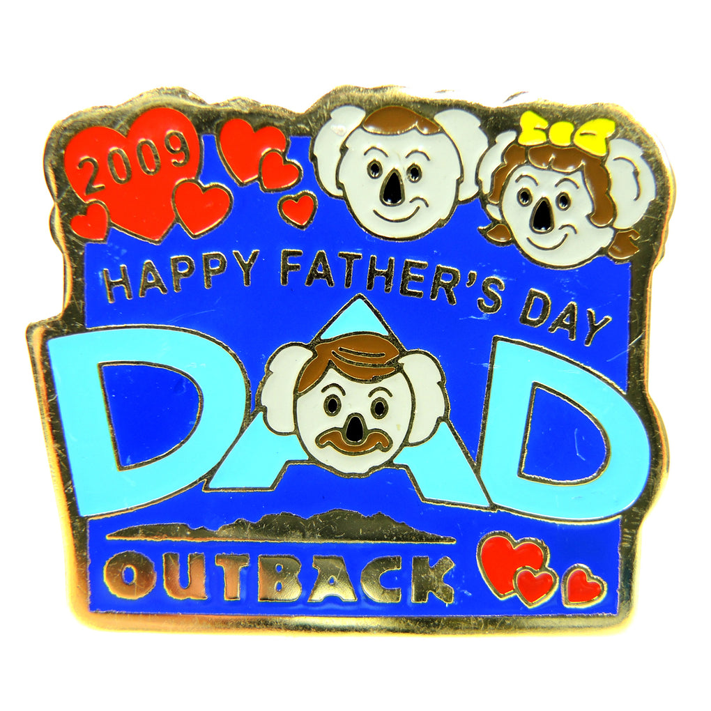 Outback Steakhouse Father's Day 2009 Lapel Pin - Fazoom
