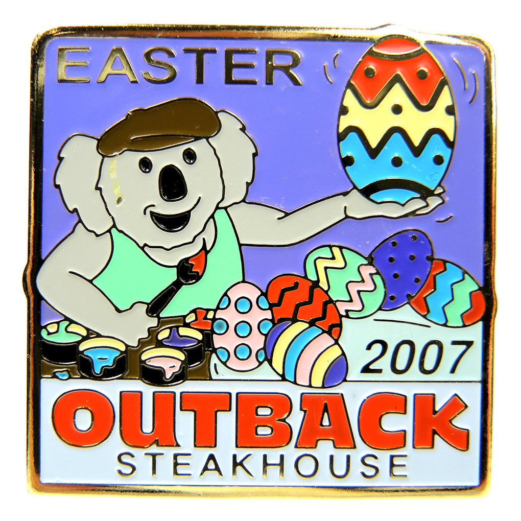 Outback Steakhouse Easter 2007 Lapel Pin - Fazoom