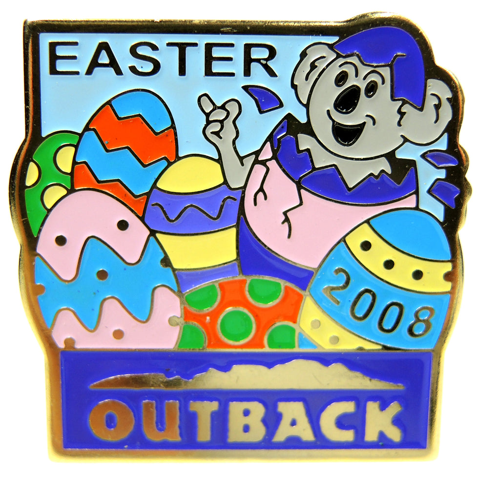 Outback Steakhouse Easter 2008 Lapel Pin - Fazoom
