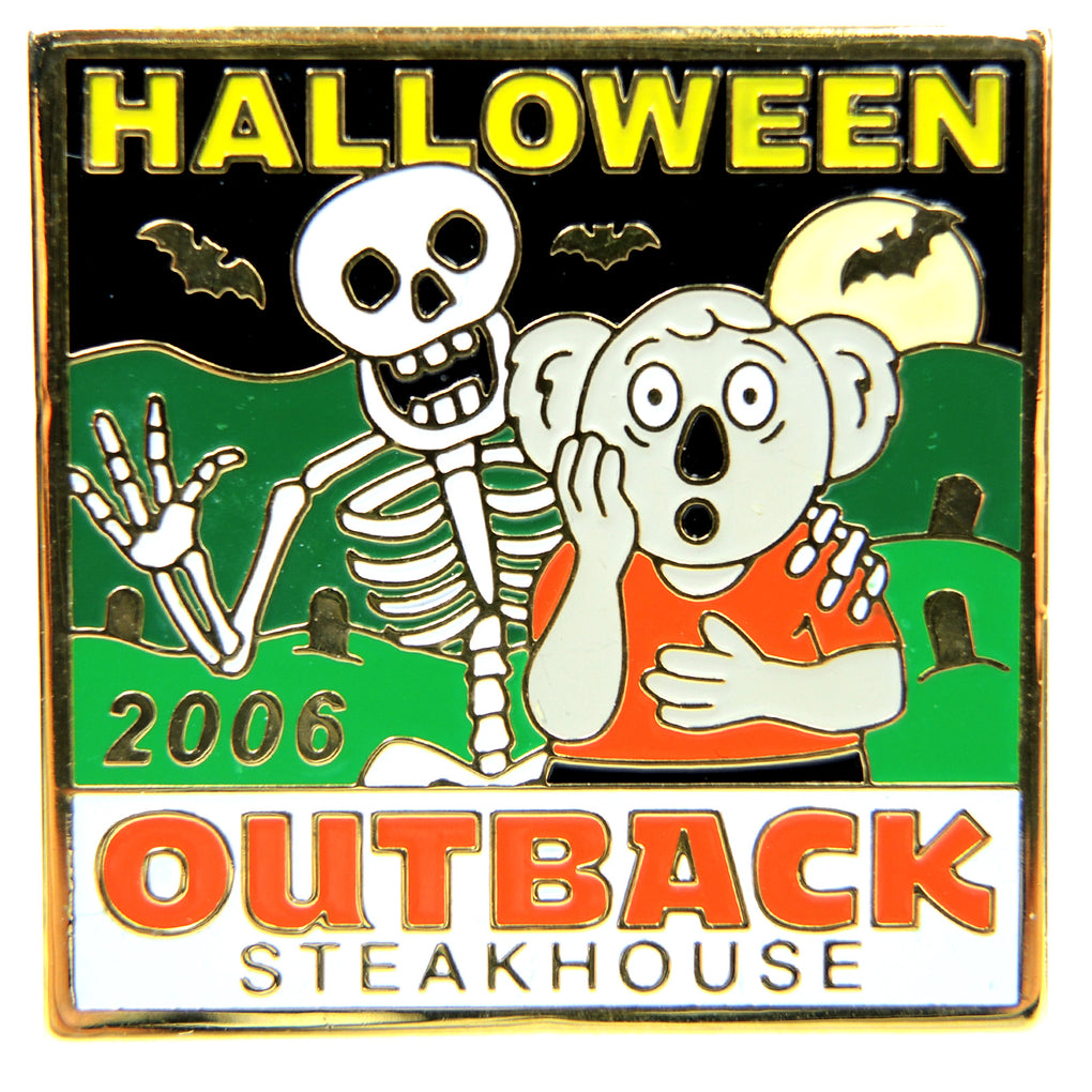 Outback Steakhouse Halloween 2006 Lapel Pin - Fazoom