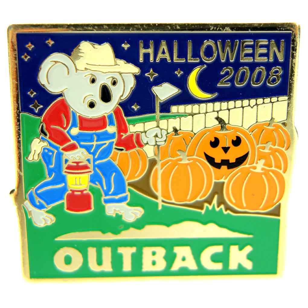Outback Steakhouse Halloween 2008 Lapel Pin - Fazoom