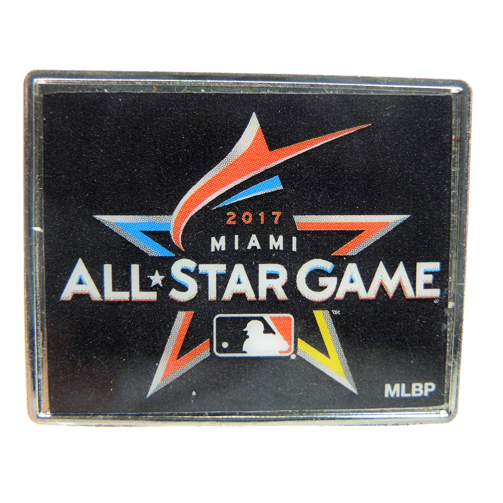 MLB 2017 All Star Game Miami Rectangle Lapel Pin