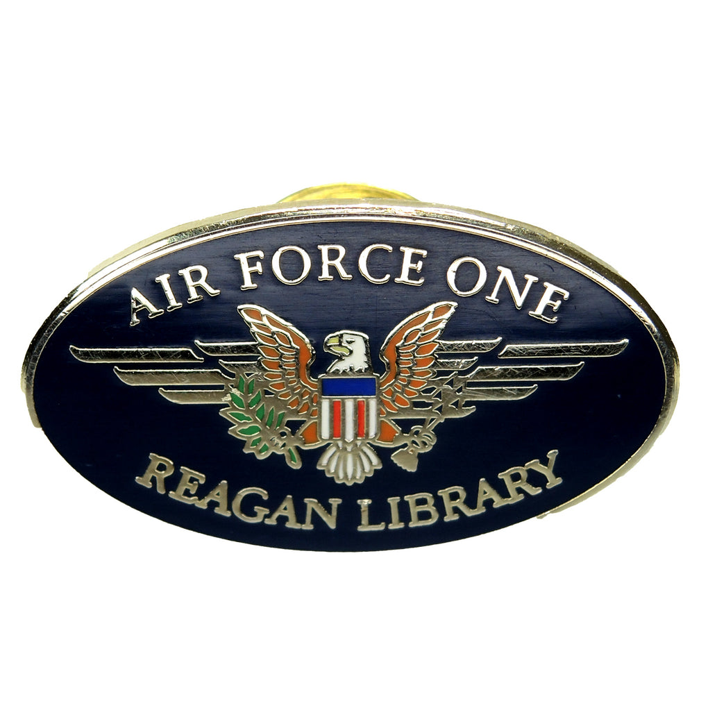 Air Force One Ronald Reagan Presidential Library Lapel Pin